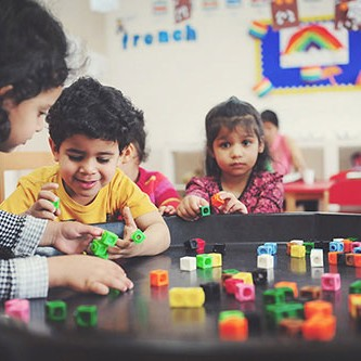 Bright Beginnings Nurseries in Abu Dhabi - play based curriculum